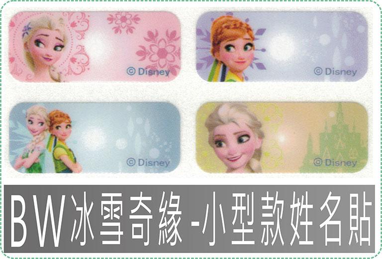 冰雪奇緣-小型款姓名貼紙迪士尼授權